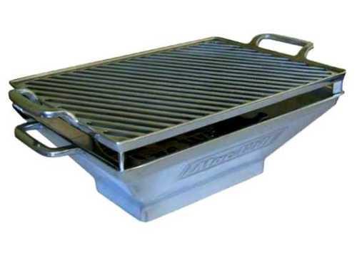 Dica de churrasco - churrasqueirinha alumínio