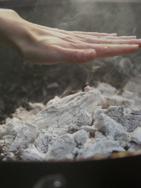 Para garantir que o churrasco de certo, verifique a temperatura com a mão.