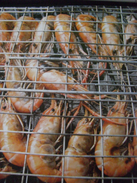 Dica de churrasco - camarão