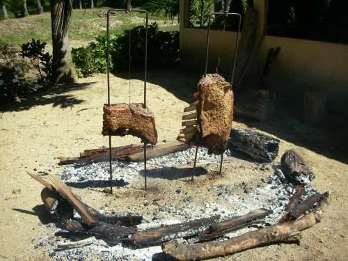 Dica de churrasco - costelão fogo de chão