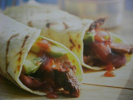 Dica de churrasco - tacos de carne