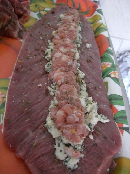 Dica de churrasco - Filé mignon suíno recheado
