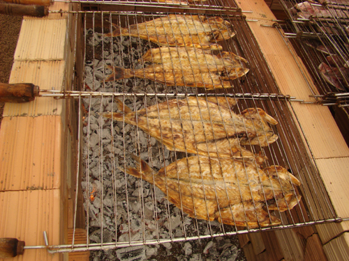 Dica de churrasco - churrasco de peixe